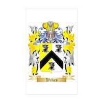 Wilkes Sticker (Rectangle 50 pk)