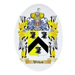 Wilkes Oval Ornament