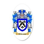 Wilkenson Oval Car Magnet