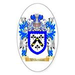 Wilkenson Sticker (Oval 50 pk)