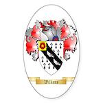 Wilkens Sticker (Oval 50 pk)