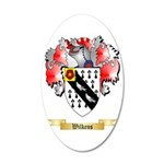Wilkens 35x21 Oval Wall Decal