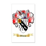 Wilkens 35x21 Wall Decal