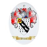 Wilken Oval Ornament