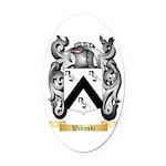 Wilinski Oval Car Magnet