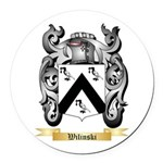Wilinski Round Car Magnet