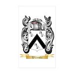 Wilinski Sticker (Rectangle 10 pk)
