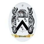 Wilinski Oval Ornament