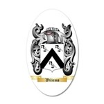 Wiliems 20x12 Oval Wall Decal