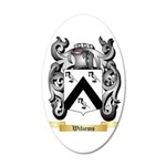 Wiliems 35x21 Oval Wall Decal