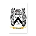 Wiliems 35x21 Wall Decal