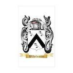 Wilhelmsson Sticker (Rectangle 50 pk)