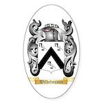 Wilhelmsson Sticker (Oval)