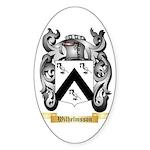 Wilhelmsson Sticker (Oval 50 pk)