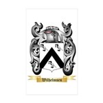 Wilhelmsen Sticker (Rectangle 50 pk)