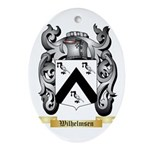 Wilhelmsen Oval Ornament