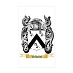 Wilhelmi Sticker (Rectangle 50 pk)