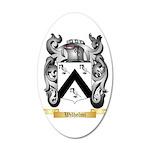 Wilhelmi 20x12 Oval Wall Decal