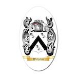 Wilhelmi 35x21 Oval Wall Decal