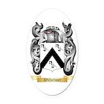 Wilhelmer Oval Car Magnet