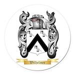 Wilhelmer Round Car Magnet
