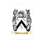Wilhelmer Sticker (Rectangle 50 pk)