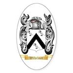 Wilhelmer Sticker (Oval 50 pk)