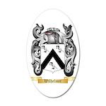 Wilhelmer 20x12 Oval Wall Decal