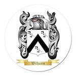 Wilharm Round Car Magnet