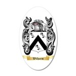 Wilharm 35x21 Oval Wall Decal
