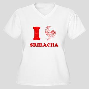 I Love Sriracha Plus Size T-Shirt