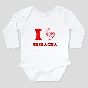 I Love Sriracha Body Suit