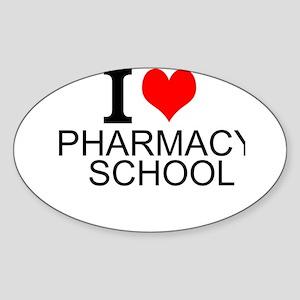 I Love Pharmacy School Sticker