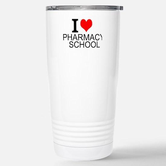 I Love Pharmacy School Travel Mug