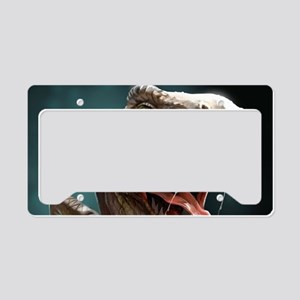Velociraptor License Plate Holder