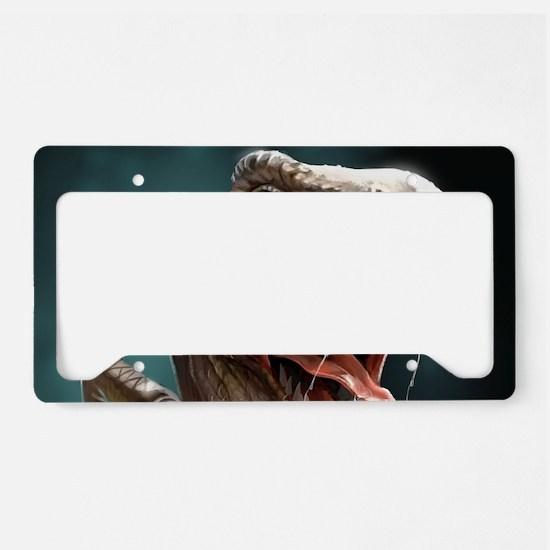 Velociraptor License Plate Holder