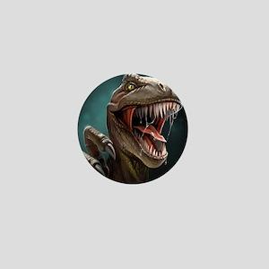 Velociraptor Mini Button