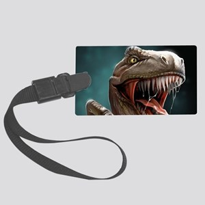 Velociraptor Luggage Tag