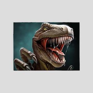 Velociraptor 5'x7'Area Rug