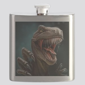 Velociraptor Flask