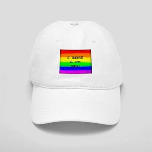 6 Beers & I'M GAY ! Rainbow art Cap