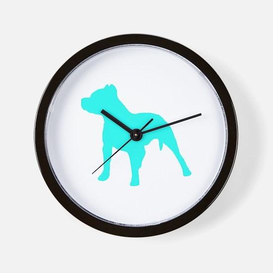 Pitbull Aqua 1C Wall Clock