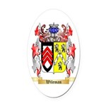Wileman Oval Car Magnet