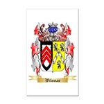 Wileman Rectangle Car Magnet
