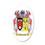 Wileman 35x21 Oval Wall Decal