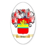 Wilder Sticker (Oval 50 pk)