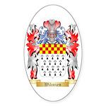 Wilcoxen Sticker (Oval 10 pk)