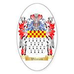 Wilcoxen Sticker (Oval 50 pk)