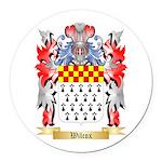Wilcox Round Car Magnet