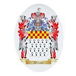 Wilcox Oval Ornament